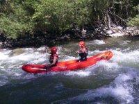 Couple in Canoa