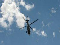 舰队空军直升机鸟瞰从直升机