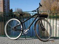 Bicicleta ribera del Manzanares