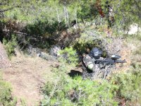 Escenario natural de paintball en Murcia