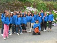 Grupo de campamento hipico