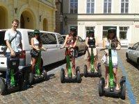 Excursiones en segway en Madrid para grupos