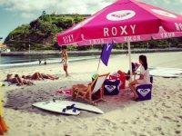 Descanso tras el surf