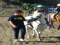 Niños en el Pony Park