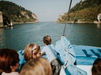Excursion en barco en Donostia