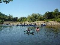 Guided canoe route