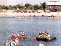 Barche diverse sul canale