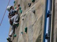 Apprendre à grimper sur un mur d'escalade