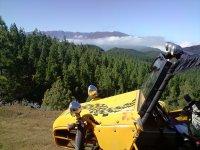 Buggy con vistas a la montana