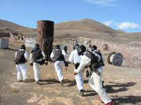 Paintball a Lanzarote con 100 palline