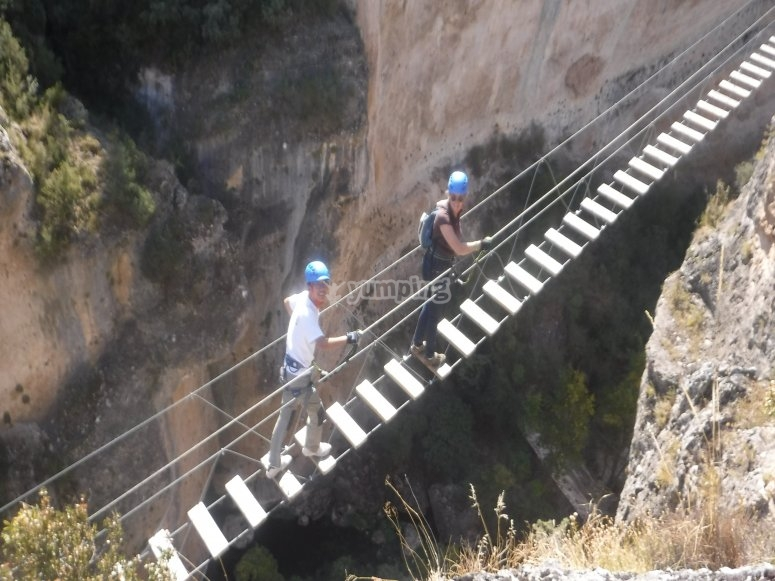 via ferrata cuenca