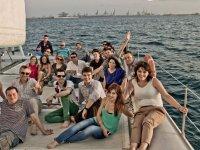 在Costa del Sol的游船之旅
