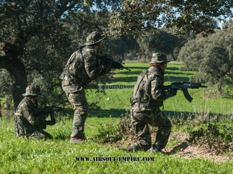 Airsoft en Madrid