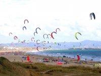 Todos aman el kitesurf