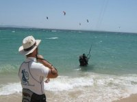 Water Start en kitesurf