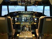 Boeing 737 Sim interior