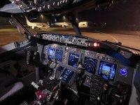 El interior del Boeing 737
