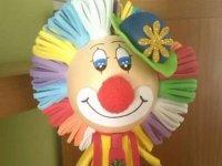 Felt clown