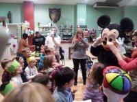 A visit from Mickey