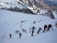 Excursion en raquetas de nieve