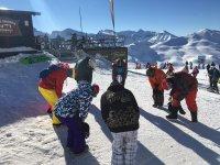 Antes de comenzar a practicar snowboard