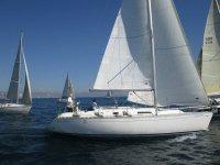 calidada帆船伟大的资格赛帆船赛中