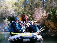 grupo rafting Valencia