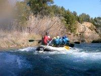 rafting por el rio Cabriel