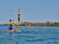 Paddle Surf en playa de Tamarit