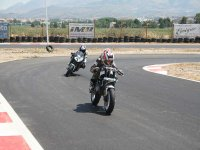 Motos en pista