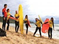 Los cursos de surf