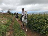 Horse riding in La Esperanza