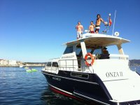 Bachelor parties by boat
