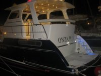 The boat Onza I