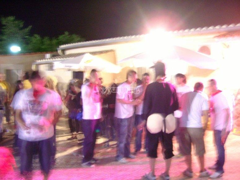 Fiesta nocturna
