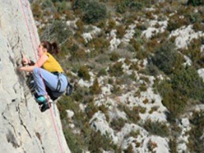 Canyoning Alquézar Escalada