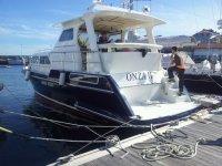 The Onza II in the port
