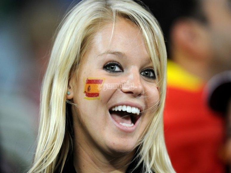 女孩典型的西班牙语
