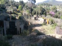 One of the paintball fields
