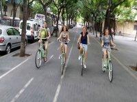 verano en bici por la ciudad