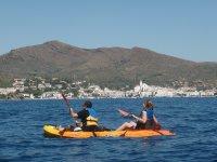 Kayak biplaza en Altafulla
