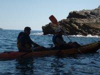 Ruta en Tamarit en kayak