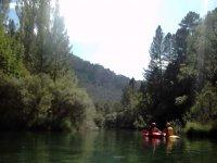 Navegando en el río