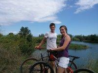 自行车和河流