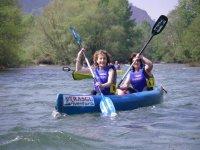 Descenso del Sella en Canoa Asturias Picos de Europa