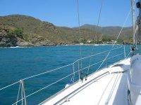 Viendo el litoral desde el barco