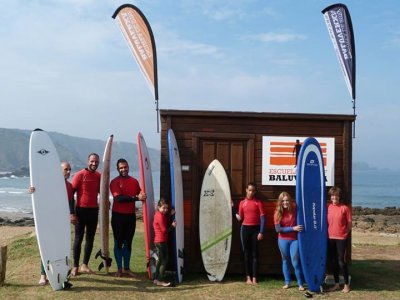 Escuela de Surf Baluverxa