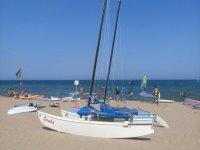 Catamaran playa 2