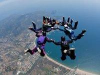 Acrobacias de paracaidistas
