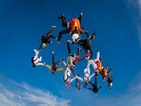 Paracaidistas profesionales en Galicia